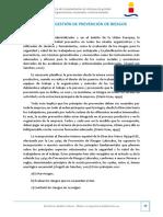 5.- Sistemas de gestión de prevención de riesgos laborales