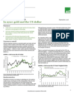 ETFS Outlook September 2016 - In Sync Gold and the USD
