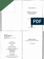 Agamben, G. - Infancia e Historia [1979] [Ed. Adriana Hidalgo, 2007]