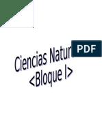 3. Ciencias Naturales