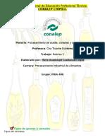Cereales y Aceites, Importancias, clasificación y funciones.