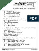 FAST TEST - DERECHOS HUMANOS 3°.doc
