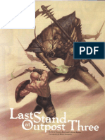 Dark Sun D&D v3.5 - Last Stant at Outpost Three