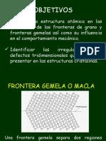 estructura cristalinas