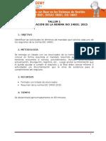 Taller Interpretacion ISO 14001 Borjas
