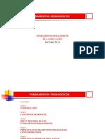 Fundamentos Pedagógicos Oficial