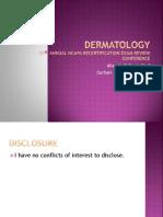 Dermatology PANRE Review
