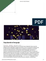 Vapuleando El Lenguaje (Matajuegos)