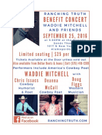 Ranching Truth benefit concert details