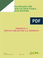 Sesión 4 Bitácoras