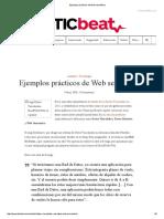 Ejemplos Prácticos de Web Semántica