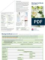 Apply for Marriage Certificate