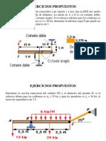 Ejercicios Propuestos Capitulo 1-El Concepto de Esfuerzo y Deformacion