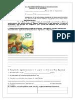 Guía de Cuentos de Mi Escritorio Lenguaje Sept.