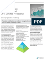 Autodesk 3ds Max 2015 Certification Roadmap