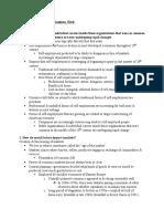 Chapter 7- Markets, Organizations, Work