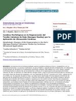 Cambios Morfológicos en la Regeneración del Tendón Calcáneo de Rata (Sprague Dawley) por la Aplicación de Ultrasonido Continuo.pdf