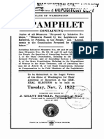Voters' Pamphlet 1922