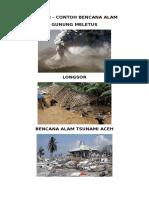 Bencana Alam Gunung Meletus