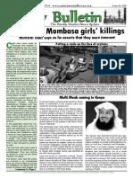 Friday Bulletin 699