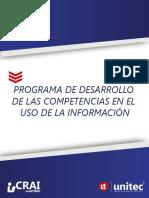 Desarrollo de Las Competencias en El Uso de La Información