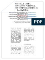 LABORATORIO ELECTROMAGNETISMO 1