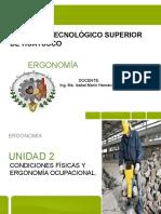 Unidad 2 Condiciones Fisicas y Ergonomia Ocupacional