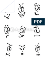 gestos caricaturas