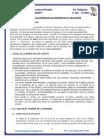 1° - 01 - III BIM - EL LAICO EN EL CORRER DE LA HISTORIA DE LA SALVACIÓN
