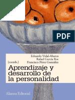 Aprendizaje y DesarAprendizaje y Desarrollo de la Personalidadrollo de La Personalidad