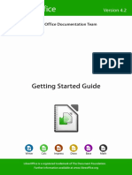 LibreOffice Getting Started