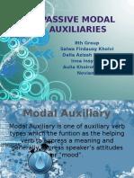 Passive Modal Auxiliaries