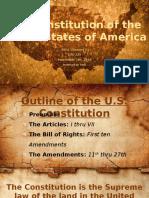 us constitution presentation