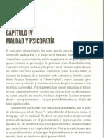 Archivo Complementario - Maldad y Psicopatia Mentes Asesinas