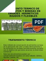 Tecnologia de Alimentos Con Tratamiento Termico