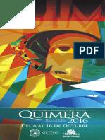 Programa Completo Quimera 2016 - Metepec