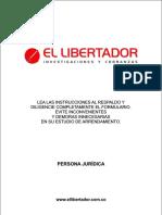 Formulario Persona Juridica