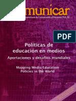 AA.vv. -Políticas de Educación en Medios, Aportaciones y Desafíos Mundiales