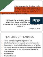 Planning-Management & Entrepreneurship