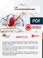 SMART - New Negative Investment List - Presentation
