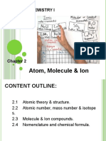 CHAPTER 2 Matter, Atoms and Molecules (Daisuke Kozaki).Ppt (1)
