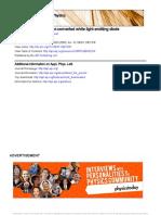 Revista de Fisica Aplicada Leters