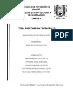 Tema 5 Investigacion y Desarrollo