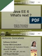 Java EE 6 - Ce Qui Vous Attend