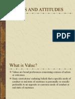 158023365 Values and Attitudes