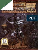 Warhammer Fantasy RPG - Tomo de Corrupción