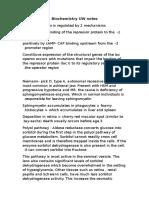 Biochemistry UW Notes