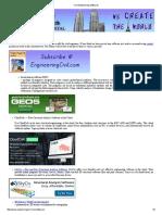 Civil Engineering Softwares