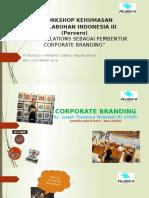 public relation sebagai pembentuk corporate branding
