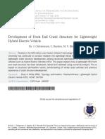 Development of Front End Crash Structure.pdf
